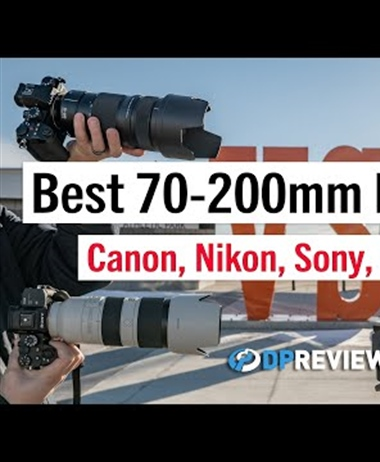 Canon RF 70-200mm F2.8L IS USM - best mirrorless 70-200?