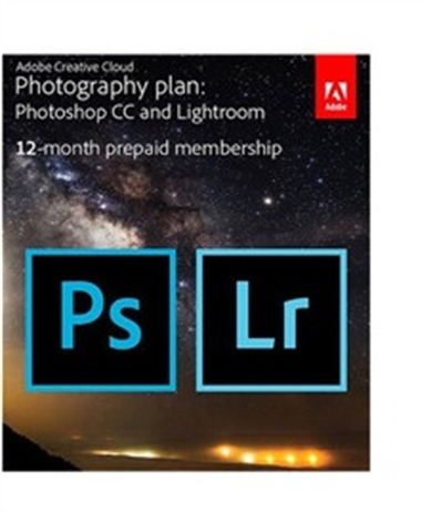 Adobe CC Photography Plan with a Bonus Gift Card