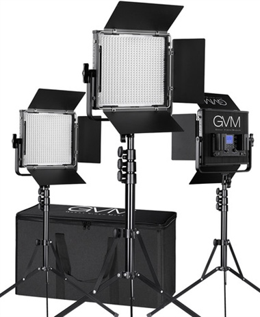 Black Friday Deal: GVM LED Lighting kits