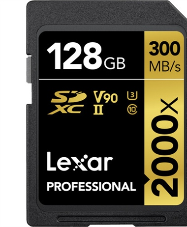 Deal of the Day: 128GB Professional 2000x UHS-II SDXC Memory Card -...