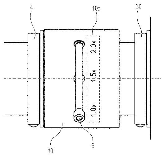 Canon Patent Application: 1.0x to 2.0x Zoomable Teleconvertor