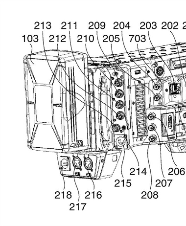 Canon Patent Application: New C700 Styled Video Camera Body