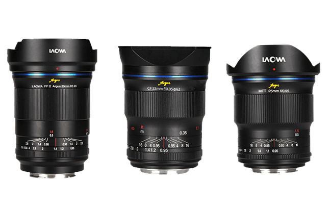 Laowa set to announce Argus F.95 Manual Focus Primes for Mirrorless