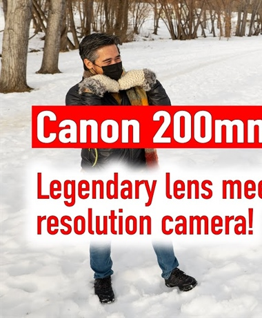 DPReviewTV: Canon 200mm F1.8L Blast from the Past