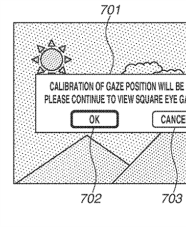 Canon Patent Application: Eye Controlled Focus Patent Applications