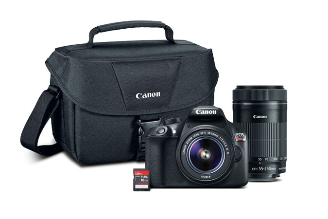 Canon T6 Holiday Bundle still available from Canon USA