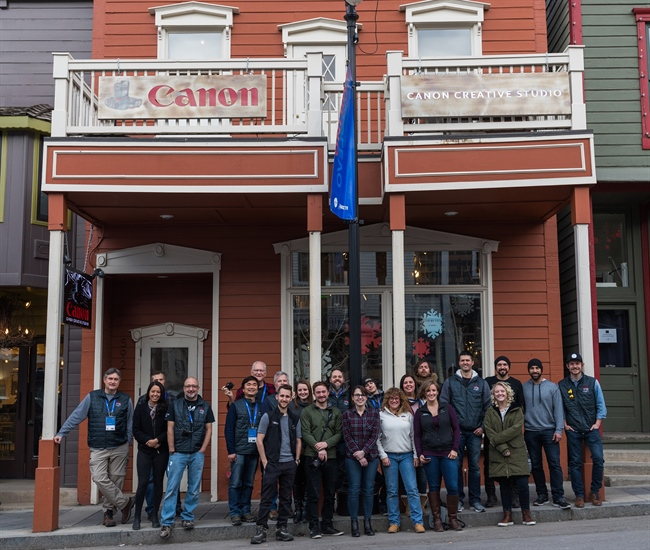 Canon U.S.A. Welcomed Filmmakers to the Canon Creative Studio as a Sponsor of the 2018 Sundance Film Festival