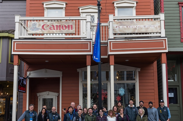 Canon U.S.A. Welcomed Filmmakers to the Canon Creative Studio as a...