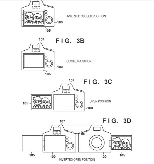 Canon Patent Application on improving eye detection on viewfinders