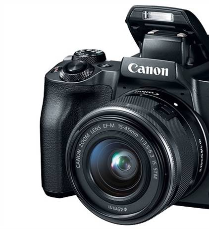 First looks at the Canon EOS-M50
