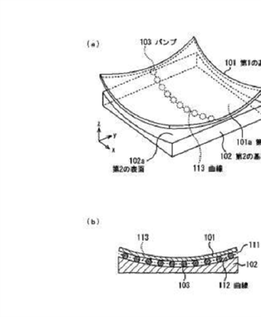 Canon Curved Sensor Japan patent application