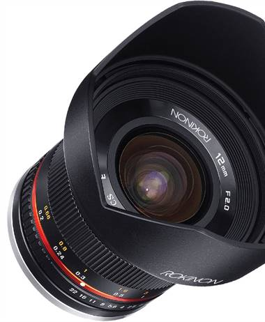 Deal of the Day: Rokinon 12mm f/2.0 NCS CS Lens for Canon EF-M