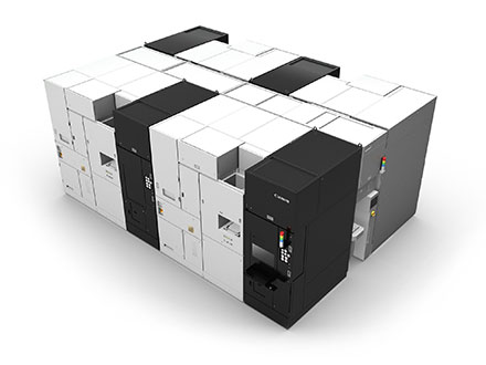Canon looks to increase lithography system production