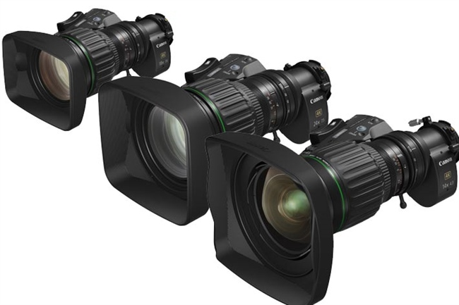 Canon Introduces New UHDgc Series of 2/3-Inch Portable Zoom Lenses for 4K UHD Broadcast Cameras