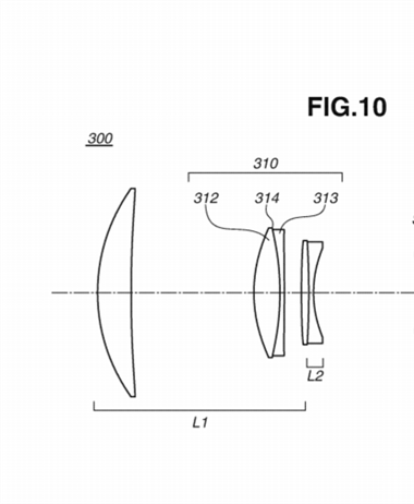 Canon patent application for some DO telephotos
