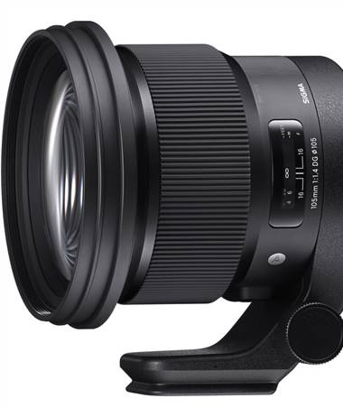 Sigma 105 1.4 preorder coming May 25th