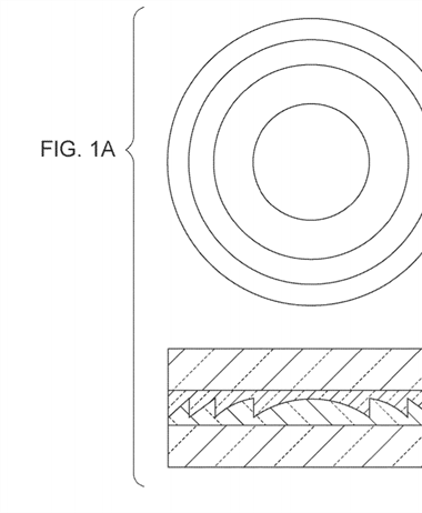 Canon Patent Application: Diffractive Optical Element improvements