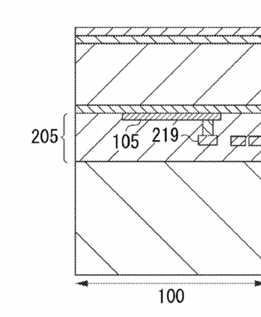 Canon patent application: A new type of stacked sensor design
