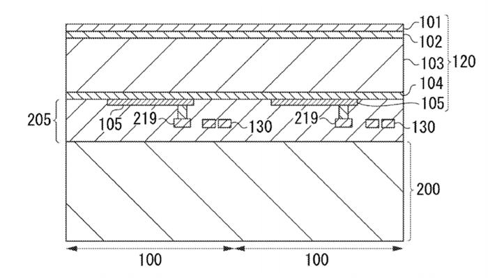 Canon Sensor Patent