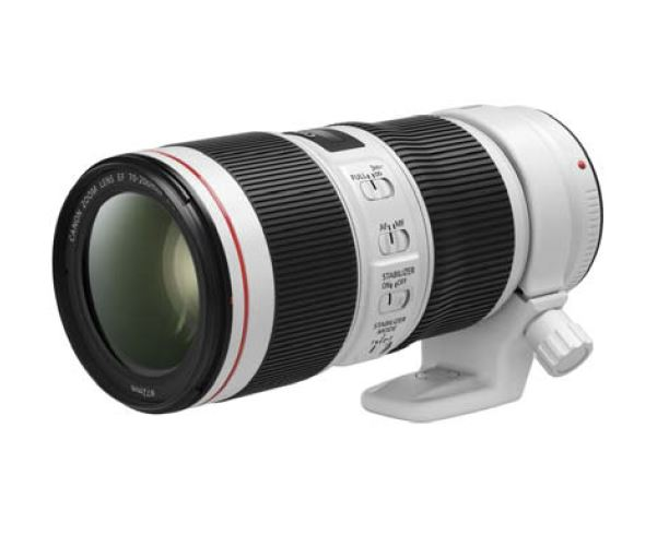 Updated Canon 70-200 F4 IS II image and specifications for both 70-200 lenses