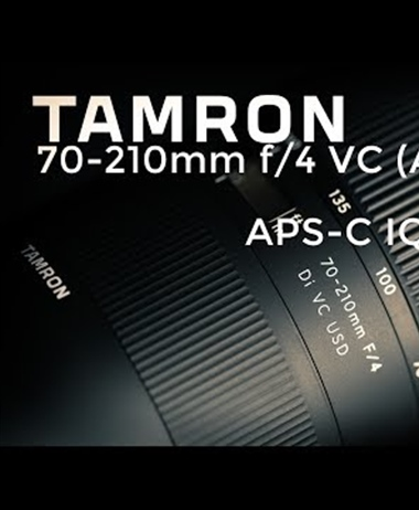 Dustin Abbot tests the Tamron 70-200 F/4 VC on the 80D