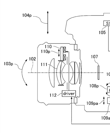 Canon Patent Application: Further developments in Hybrid IS systems