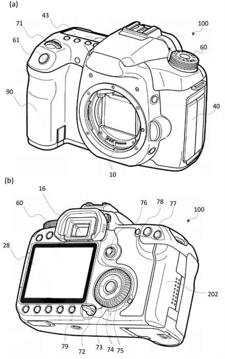 Canon Patent Application: LCD for image review while using an EVF
