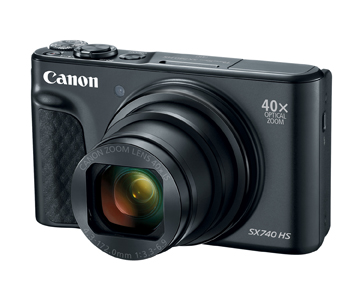 Long Zoom In A Small Package: Canon Introduces PowerShot SX740 HS...