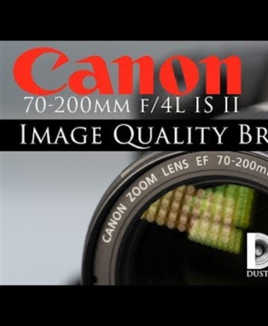 Dustin Abbott breaks down the Canon 70-200 F4L IS II image quality
