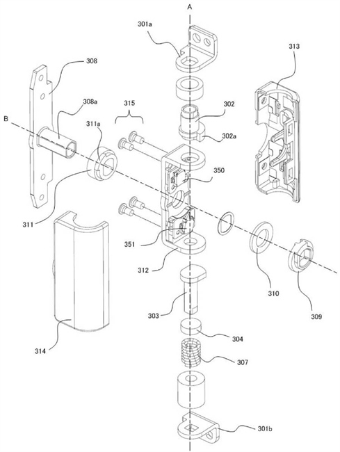 Canon Patent Application: Fully articulating screen refinement