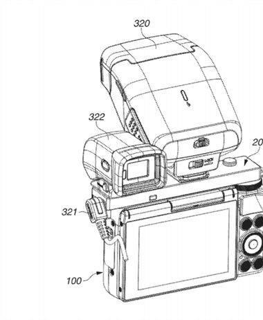 Canon Patent Application: Expansion accessory for Canon's small cameras