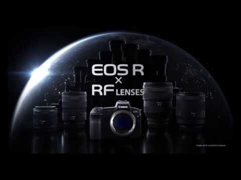 Canon unveils the EOS R and RF: Videos
