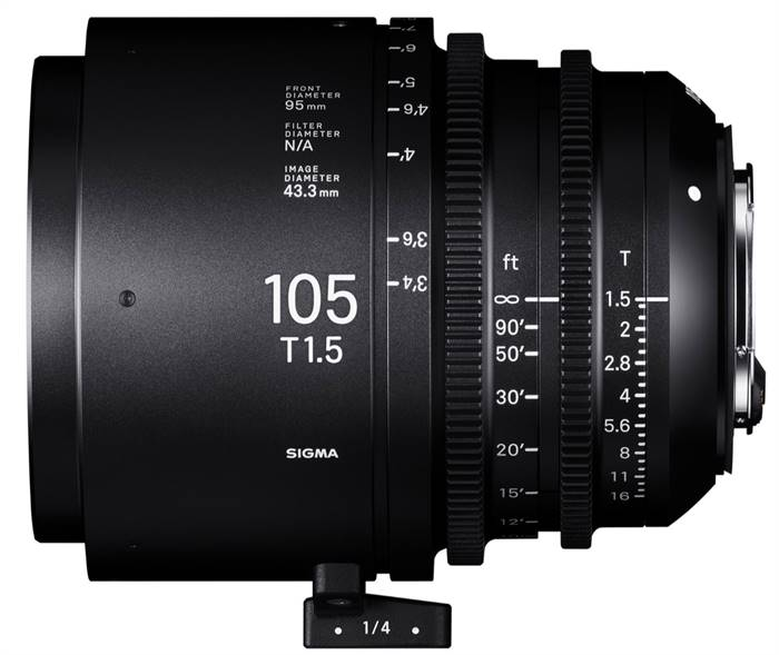 Sigma to announce three new CINI lenses soon