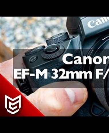 Preview and Unboxing of the EF-M 32mm 1.4