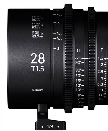 Specifications for the upcoming Sigma CINI lenses are leaked