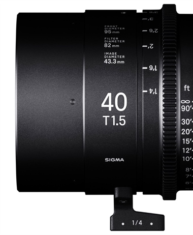 Sigma officially announces three more CINI Primes to it's lineup