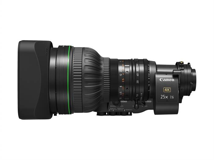 Canon Expands Lineup of Portable Zoom Lenses For 4K Broadcast Cameras With The Introduction of the CJ25ex7.6B