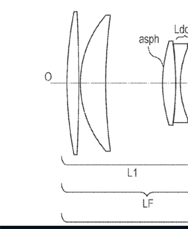 Canon Patent Application: 600mm F4 DO Supertelephoto