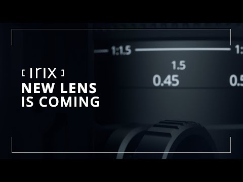 Irix teases a new lens coming out at Photokina