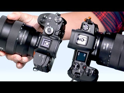 Tony & Chelsea Northrup:  Canon EOS R vs Sony a7 III Review: Full-frame mirrorless camera comparison!
