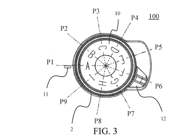 Canon Patent Application: A better rotary switch