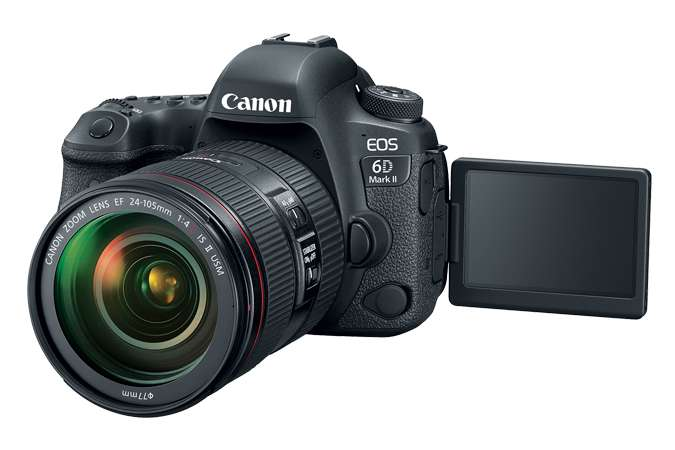 Canon updates the 6D Mark II firmware
