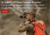 New Canon instant rebates until November 3rd