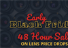 Adorama 48 hour Early Black Friday Lens Sale