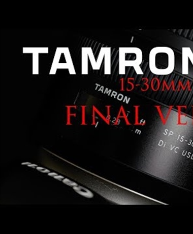 Dustin Abbott review of the Tamron SP 15-35mm f2.8 VC G2