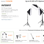 Deal of the Day: B&H Lighting deals - up to $1025 off