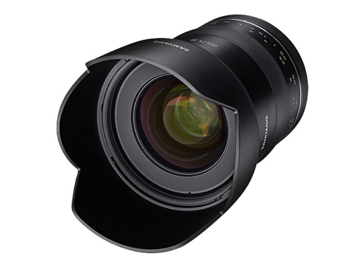 Samyang to announce an XP 35mm 1.2 soon