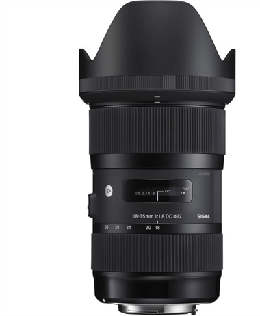 Deal of the Day: Sigma 18-35mm 1.8 for Canon EF-S