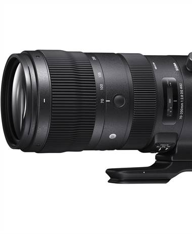 Sigma ships the 70-200 2.8 DG OS HSM Sports lens